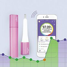 Easy@Home Smart Fertility Tracker, Bluetooth Oral Basal Thermometer EBT-500 with