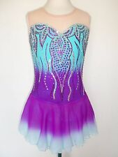 CUSTOM MADE NEW FIGURE ICE SKATING BATON TWIRLING DANCE DRESS