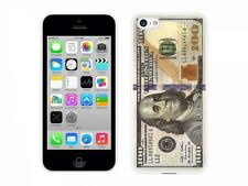 Cellet White Proguard Case with New $100 One Hundred Dollar Bill Apple iPhone 5c