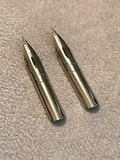 2 X ZEBRA G COMIC STEEL FLEX PEN NIBS-JAPAN-NEW-UK STOCK.