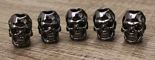 Lot 10 L Double Face 9 Color Skull Bead Paracord Lanyards Bracelets Jewelry DIY