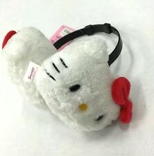 Sanrio Hello Kitty Plush Earmuffs Ear Warm Cover Adjustable Kids to Adult