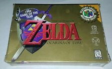 COMPLETE LEGEND OF ZELDA OCARINA OF TIME NINTENDO 64 GAME N64 BOX MANUAL