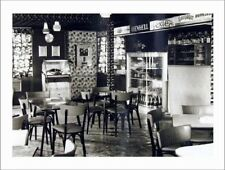 "*Postcard-""The Old Cafe w/Classic Record Player/Jukebox""  -Classic-"