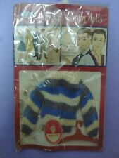 Vtg Ideal Brand Tammy 60s Doll Clothes SWEATER On Card (DAD & TED)