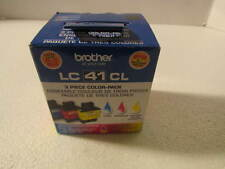 BROTHER ink LC41CL -lc41C, lc41M, lc41Y - cyan, magenta, yellow (3 pack)
