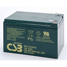 CSB EVX 12120 F2 Cyclic Sealed Lead Acid Battery 12V 12Ah EVX12120F2 SLA