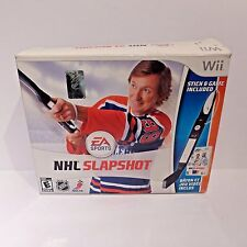 NHL Slapshot Nintendo Wii Complete Stick And DVD Sealed