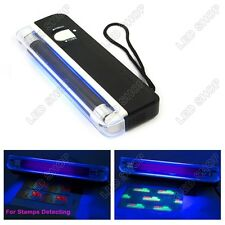 New 365nm Detecting ID Card Postage Staps & Tagging 4W UV Tube Black Light Lamp