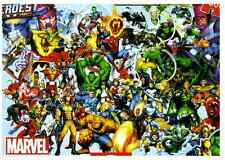 "Jigsaw Puzzles 1000Pieces ""Marvel Heroes"" / Marvel / Educa"