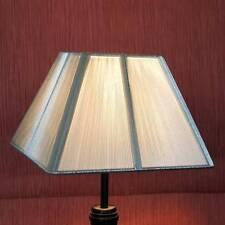 Pantalla de seda Pantalla de lámpara Nuevo Lámpara de florero 23033 Tela plata