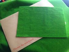 Grass mat Model Train Set HORNBY War Slot school Farm Scenery  A4 sheet 29cx20cm