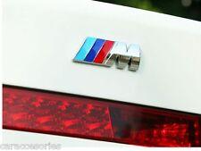 3D car badge sticker M power BMW 3D sticker emblem trunk rear decal logo badge