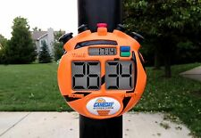 Kid's Portable Electronic Scoreboard Gameday Digital Outdoor Pole Basketball New