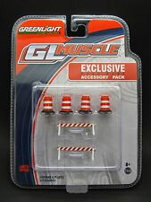 Greenlight 1/64 Muscle Road Work Accessory Pack