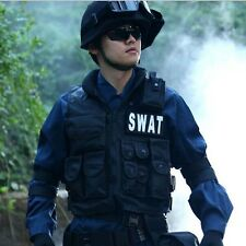 Airsoft Tactical Vest Cool Hunting,Police,SWAT with pistol / gun holster,pouches