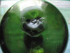 RARE C1900 favorisce Glass Company Lancashire Net Float FGC made in Inghilterra MARK