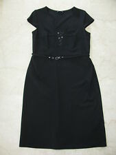 LUISA CERANO Elegante Stretch Etui Kleid Businesskleid Dress Gr.42 Neuwrtig