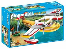 Playmobil 5560 aventure tree house pompiers seaplane
