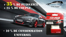 BOITIER ADDITIONNEL CHIP PUCE OBD2 TUNING VOLKSWAGEN POLO IV 1.4 1L4 TDI 80 CV