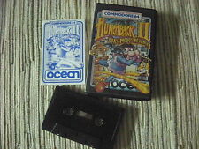 COMMODORE 64 HUNCHBACK II GAMES CINTA CASSETTE USADO