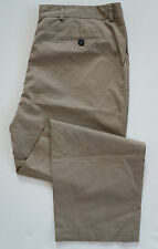 Authentic LANVIN 100% Cotton Khaki Chino Pants IT-58 US-41