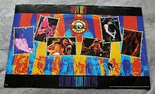 Guns N' Roses 1991 Use Your Illusion Tour Axl Rose Slash 6 Pix Music Poster GVG