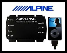 ALPINE KCE-415I iPod Video Audio for Rearseat Entertainment, brand new, warranty