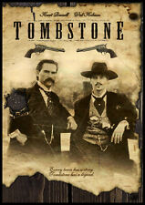 Tombstone FRIDGE MAGNET 6x8 Movie Poster Val Kilmer Magnetic Canvas Print