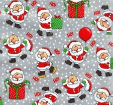 LIL' SANTAS CHRISTMAS GIFT WRAPPING PAPER -Two 6 Ft Sheets