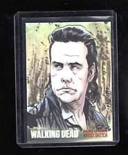 The Walking Dead season 4 Carlos Cabaleiro sketch card