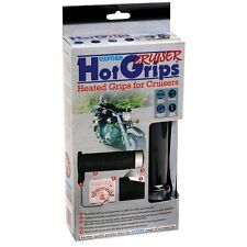 Oxford Cruiser Heated Hot Grips Motorcycle Grips With Chrome Switch  OF697
