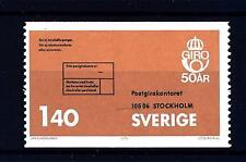 SWEDEN - SVEZIA - 1975 - Cinquantenario dei Conti Correnti Postali svedesi