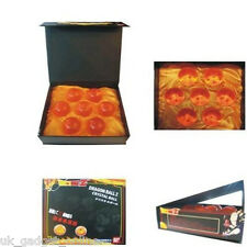 DragonBall Z Anime Stars Crystal Ball Set 7PCS in Box Gift Collection UK SELLER