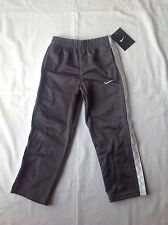 Boys Youth Nike Athletic Long Pants Polyester Solid Gray Size 4 NWT $30