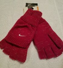 NWT Youth Nike Convertible Gloves Pink Sparkles
