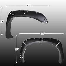 Fender Flares for 02-08 Dodge Ram 15/2500/35 Bolt On 4pc Set Pocket Rivet Style