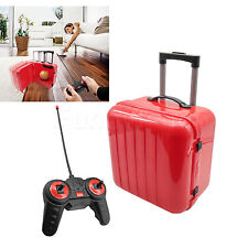 Simulation Mini Radio Trolley Luggage Bowl Trash RC Toy Bin gift Remote Control