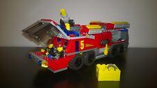 Lego city camion de pompiers de l' aeroport
