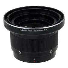 Fotodiox objetivamente adaptador pro Mamiya rb67 & rz67 lente para Nikon F cámara