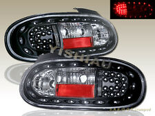 99 00 01 02 03 04 05 MAZDA MIATA MX-5 BLK LED TAIL LIGHTS BRAKE LAMPS 1999-2005