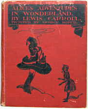 ALICE IN WONDERLAND Alice's GEORGE SOPER Adventures Fairy Tales LEWIS CARROLL us