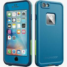LifeProof FRE Water Dust Proof Hard Case for iPhone 6 6s PLUS - Blue - NEW