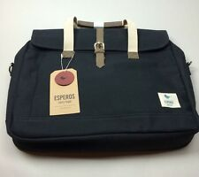 Esperos Baldwin Porter Brief messager bag navy blue NEW