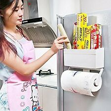 Multipurpose Refrigerator 2-IN-1 Combination Storage Rack, Tissue Paper Holder