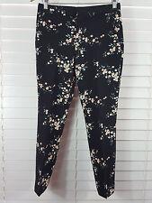 ZARA sz 8 (or XS / 4 us ) womens floral print crop pants [#2003]