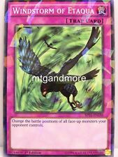 Yu-Gi-Oh - 1x Windstorm of Etaqua - Shatterfoil Rare - BP03 - Monster League