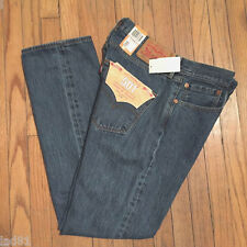 NEW $68 LEVIS 501 JEANS STRAIGHT LEG BUTTON FLY  MED STONEWASH 10193 36x34