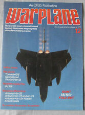 Warplane magazine Issue 12 IAI Kafir Cutaway drawing & Poster