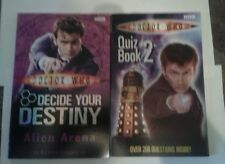 "Doctor Who Decide Your Destiny ""Alien Arena"" and Quiz Book 2"